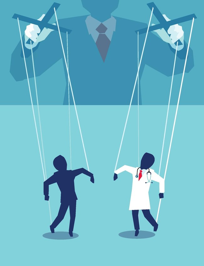 Who's really pulling the strings in healthcare in America? Author and former health insurance executive turned whistleblower, Wendell Potter shares insights in PATIENT SAFETY.